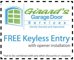 Free keyless entry with an opener installation