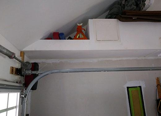 garage door rail repair